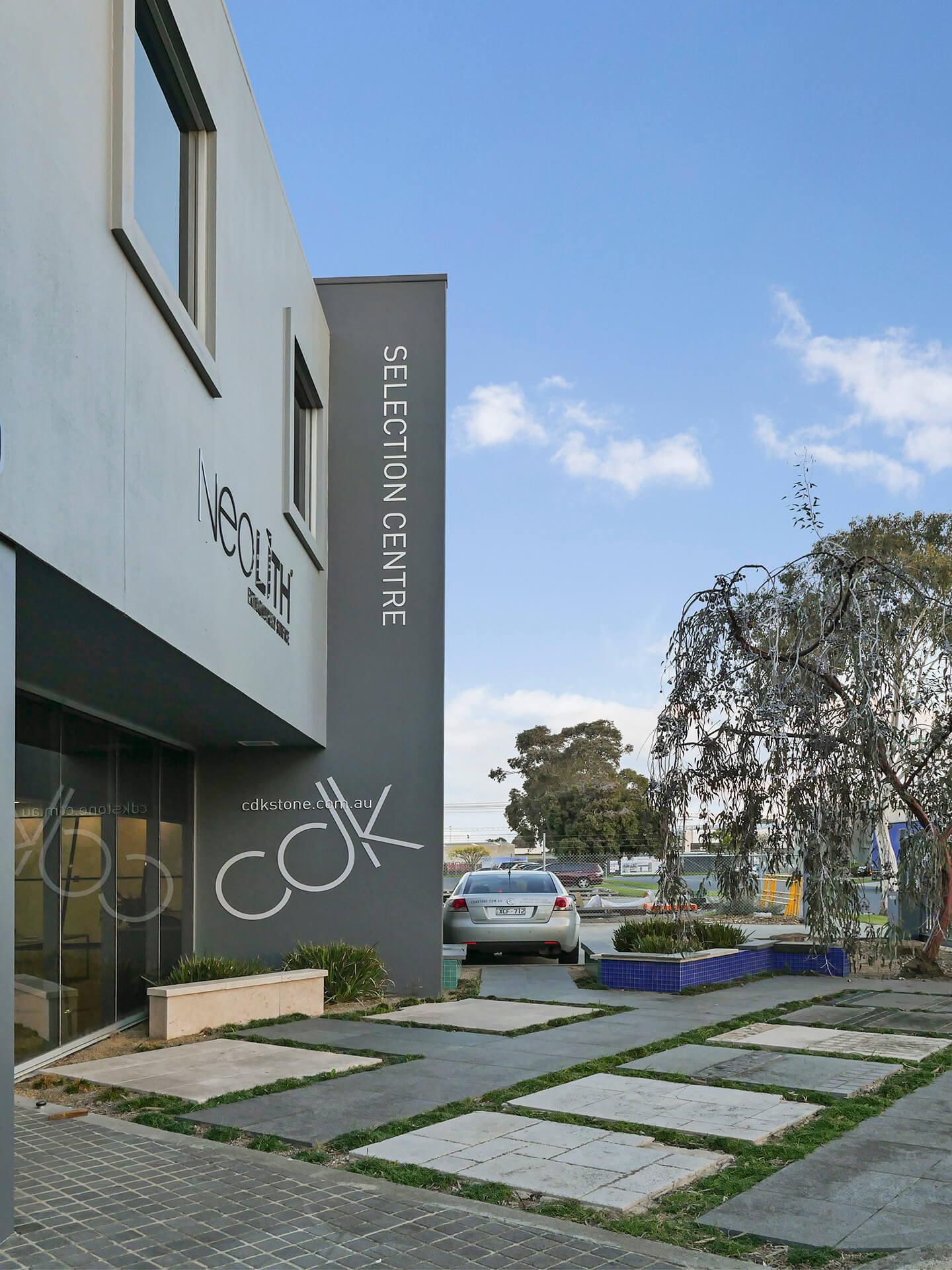CDK Stone Commercial job Sydney