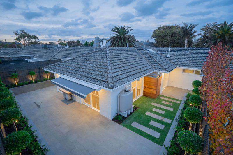 Panorama shot for residential painting sutherland shire